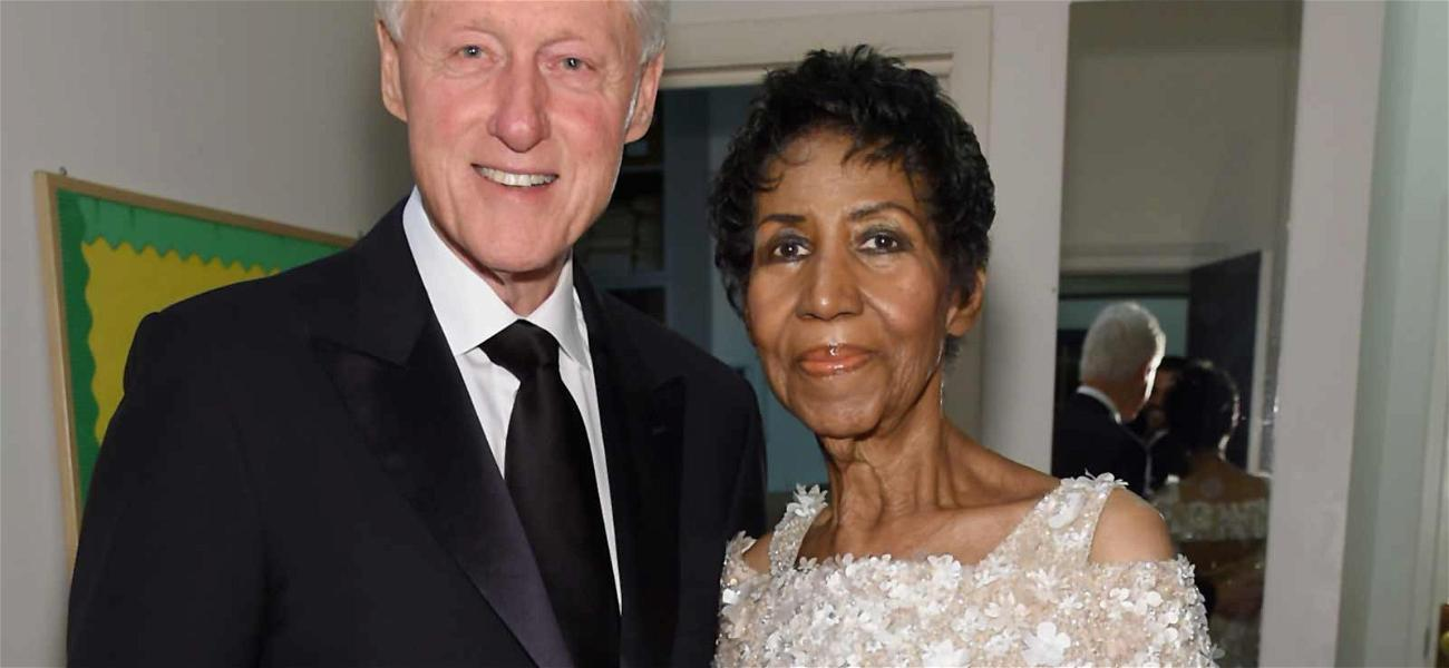 Bill Clinton & Cicely Tyson Among Stars to Speak at Aretha Franklin's Funeral