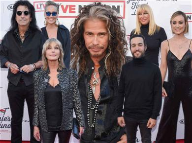 Steven Tyler Jams Out for 'Janie's Fund' Charity Gala