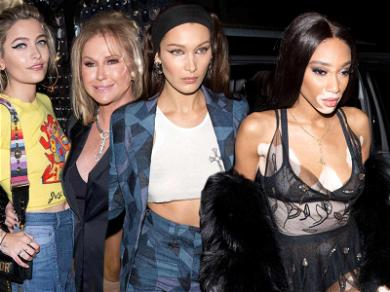 Bella Hadid, Paris Jackson and More Flock to Dior's Private Party