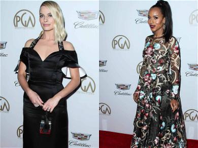 Margot Robbie & Kerry Washington Produce Greatness at PGA Awards