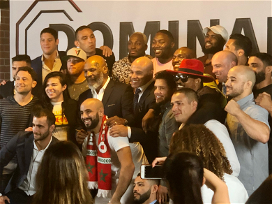 Mike Tyson Hosts UFC Champions for 'Dominance MMA Management' Media Day