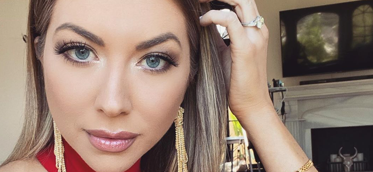 Pregnant Stassi Schroeder Takes Dip In Lake Without Life Vest