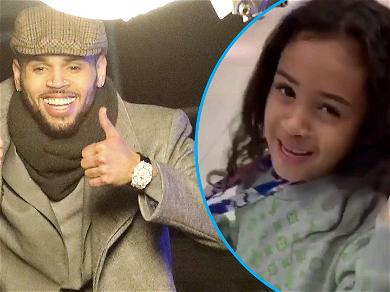 Chris Brown Shares Adorable Video Of Daughter Royalty Singing Along To Her Favorite Song