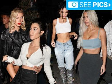 Most of the Kardashians Turned Up for Kendall's 22nd Birthday