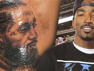 JR Smith Gets Nipsey Hussle Tattoo in Honor of Fallen Rapper