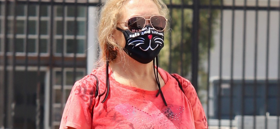 'Tiger King' Star Carole Baskin Arrives In Hollywood For 'DWTS' Rehearsals In Tiger Gear!!