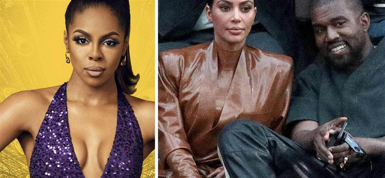 'RHOP' Star Candiace Dillard Says Kim Kardashian Doesn't Care About Kanye West