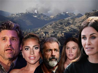 Julia Roberts, Patrick Dempsey Malibu Mansions In Danger From Fast-Moving Wildfire