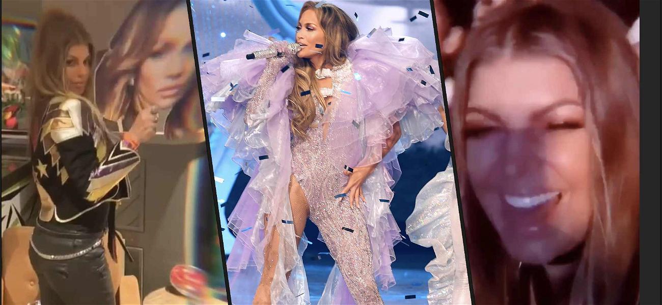 Fergie Lets Loose With J. Lo After Filing For Divorce from Josh Duhamel