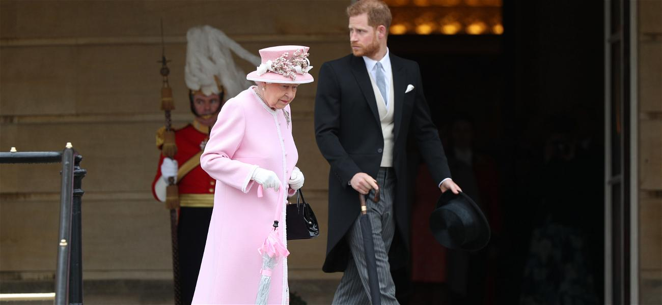 The Queen Proves She Is Still A Grandmother First