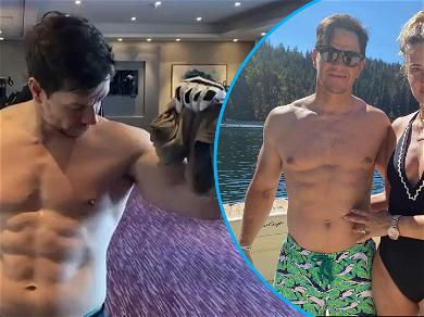 Mark Wahlberg Shows Off Most Impressive Dad Bod Ever After Celebrating His 11th Wedding Anniversary