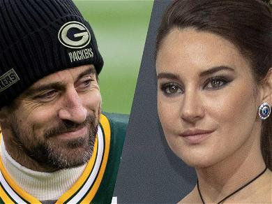 Shailene Woodley Gives Sneaky Glimpse Of Aaron Rodgers' Engagement Ring