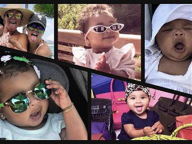 True Thompson Turns One — Take a Look Back at Her First Year!