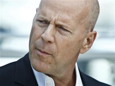 Bruce Willis Caught Unmasked, Social Media Hollers 'Tom Cruise Talk'