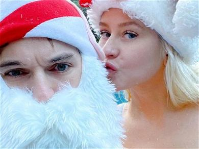 Christina AguileraNaughty With Santa For Stay-At-Home Christmas