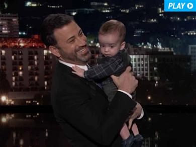 Jimmy Kimmel Brings His Son Billy to 'Jimmy Kimmel Live' as He Does a Tearful Monologue