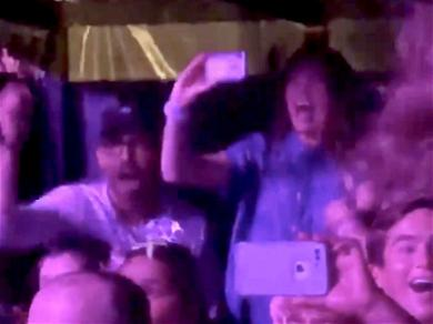 Ryan Reynolds and Blake Lively Freak Out Hearing Their Daughter's Voice at Taylor Swift Concert
