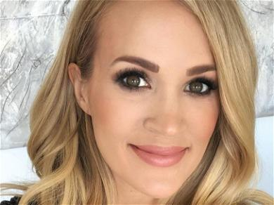 Carrie Underwood Distracts Fans With Knotted-Up Studio Look