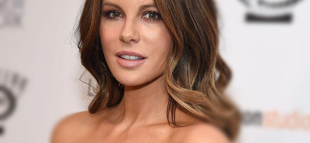 Kate Beckinsale Tugs Bralette While 'Dirty Dancing' In Kitchen Birthday Video