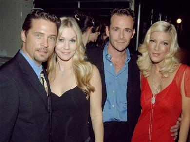Tori Spelling Shares Her Disappointed Over Luke Perry Being Left Out Of The Oscars' In Memoriam
