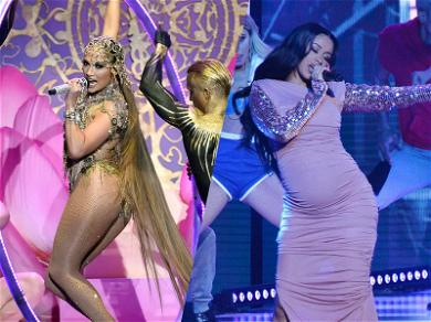 JLo & Cardi B Square Off at the Hottest Latin Billboard Awards Yet
