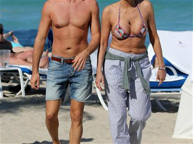Sharon Stone PDA With Younger Boyfriend in Miami