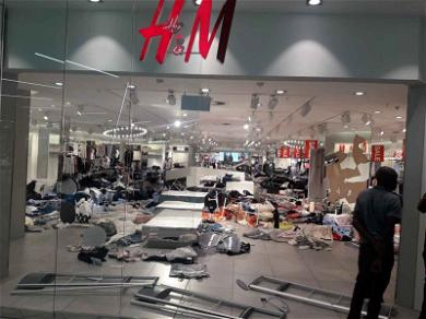 Protestors DESTROY H&M Stores Over Racist Ad