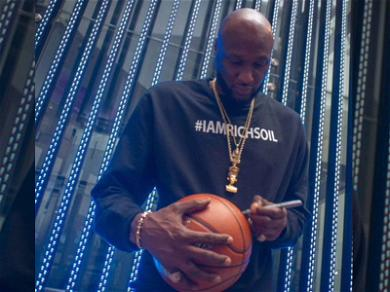 Lamar Odom Attracts HUGE, Kylie Jenner-Sized Crowd At Pop-Up Shop