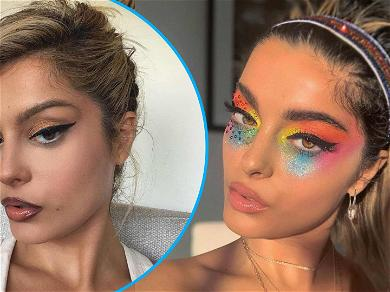 Bebe Rexha Goes Full Glam Because She 'Was Bored,' Check Out Her Cat Eyes!