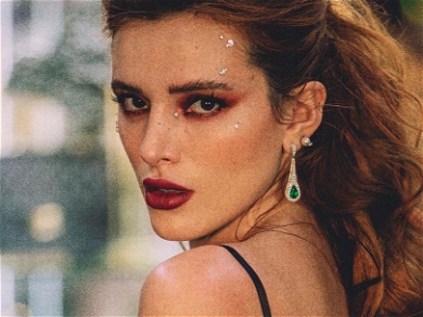 Bella Thorne Flaunts Her Snowflakes for Icy Lingerie Romp
