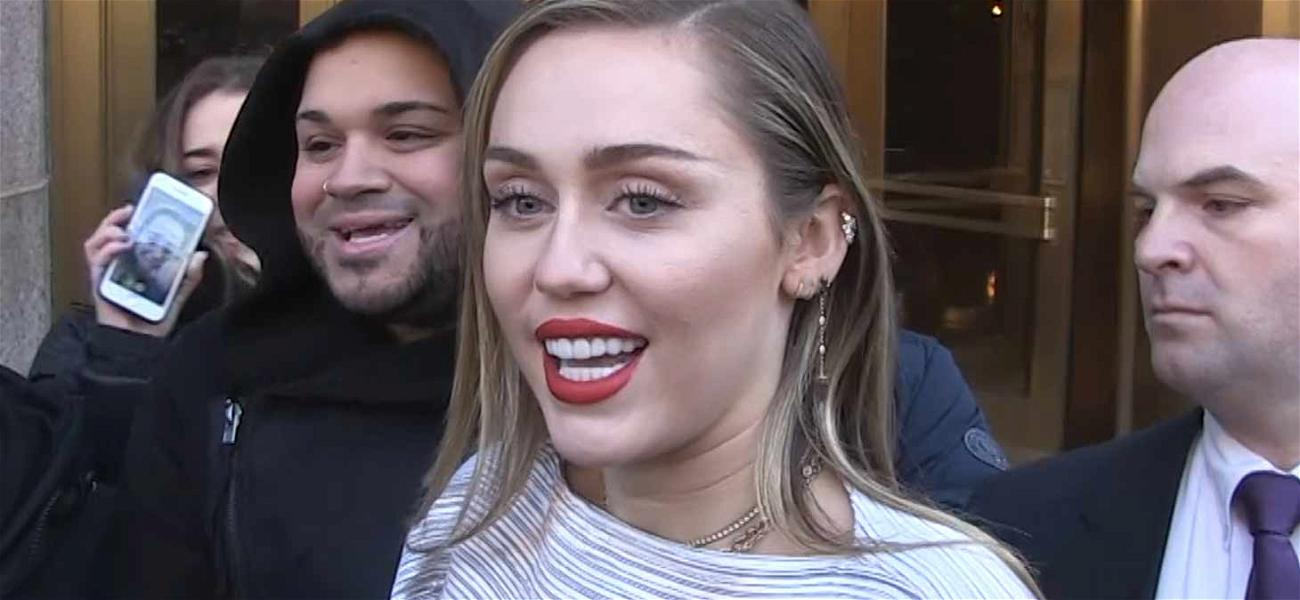 Miley Cyrus Calls Fans Out for Smoking Pot While Promoting New Song