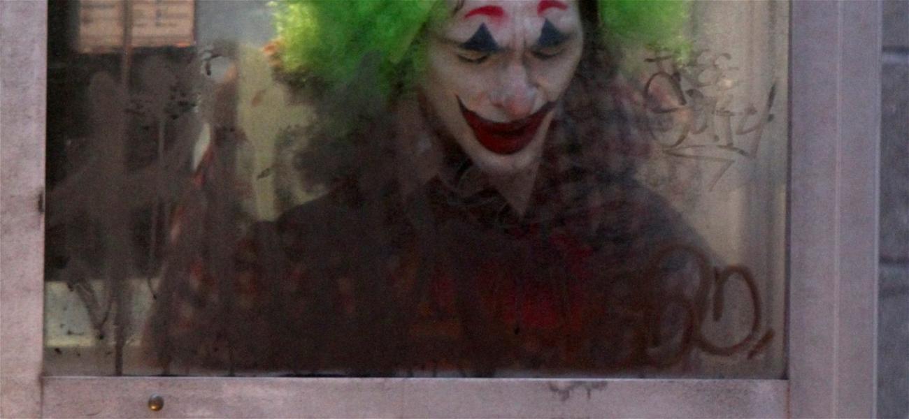 """Joaquin Phoenix Films """"Joker"""" in Brooklyn"""