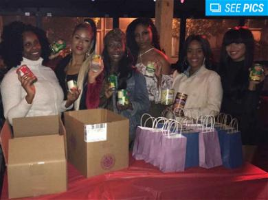 'Bad Girl' Judi Jai Does Some Good With Thanksgiving Food Drive