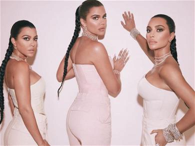 Kardashian Sisters Flaunt Their Wild Booties In Minuscule Thong Bikinis