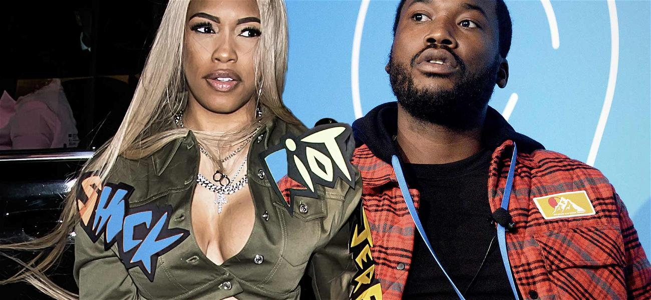 Is Meek Mill About To Be A Daddy Again? Rumors Swirl After Girlfriend Debuts Baby Bump!