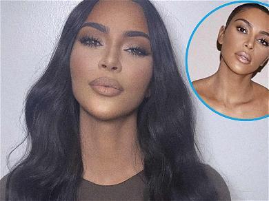 Kim Kardashian SLAYS In Busty Dress Amid Kanye West Marriage Drama