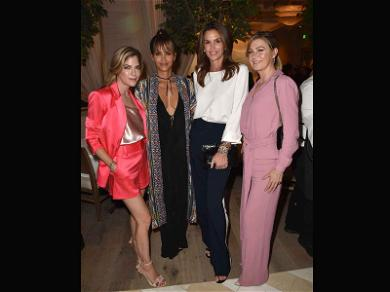 Cindy Crawford, Halle Berry, Ellen Pompeo & Selma Blair All Hung Out Last Night ?