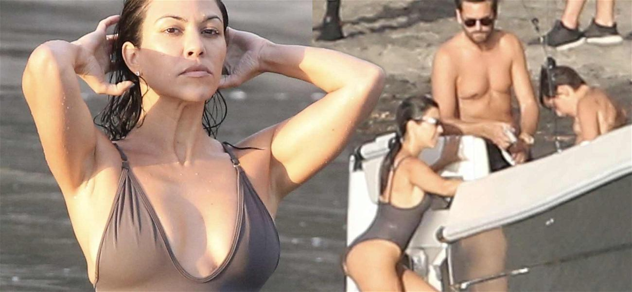 'Soulmates' Kourtney Kardashian And Scott Disick Get Wet in Costa Rica