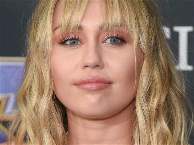 Miley Cyrus Forgets Clothing Item On Treadmill Run