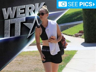 Kaley Cuoco Looks Zenned Out Post Yoga Sesh