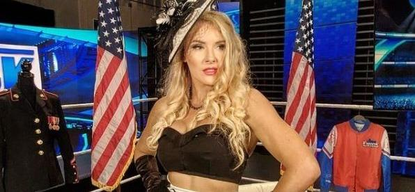 WWE Writes Lacey Evans' Pregnancy Into Storyline