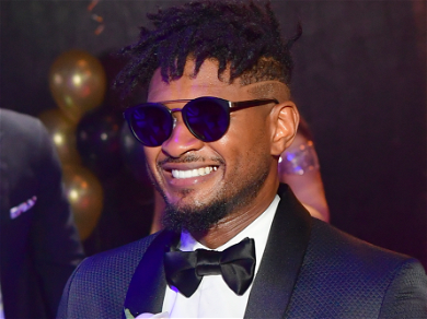 Usher Spotted Being Kissed By Mystery Woman, Months After Divorce Was Finalized