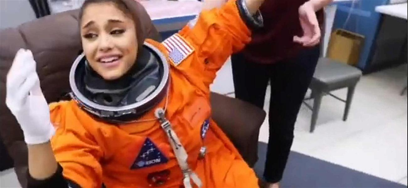 Ariana Grande Had an Outta This World Weekend with NASA