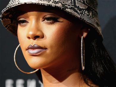 Rihanna Sued for Allegedly Giving a Clothing Company the Middle Finger Over 'FU' Logo
