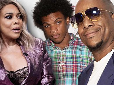 Wendy Williams' Son Arrested for Punching Father After Kevin Hunter Puts Him in Headlock