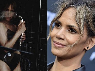 Halle Berry Gets Wet For First 'Fitness Friday' Of 2020