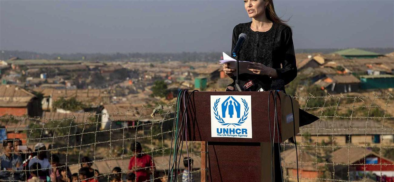 Angelina Jolie Continues Humanitarian Work After Secret Meeting with Brad Pitt