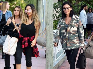 Snooki, JWoww and Deena Are Ready to GTL Miami Style