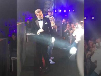 50 Cent Gets Down with John Travolta 'Just a Lil Bit' in Cannes