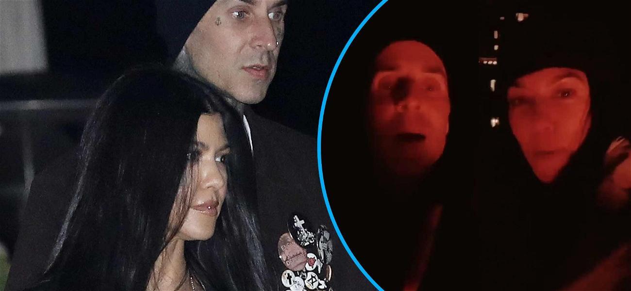 Kourtney Kardashian Calls Travis Barker 'My Boyfriend' In Funny 'Pass The Phone' TikTok